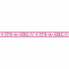Baby Shower - General Foil It's a Girl Banner 7.6m