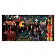 Halloween Creepy Carnival Side Show Banner