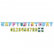Blue's Clues Party Decorations - Banner Jumbo Add-An-Age Letter