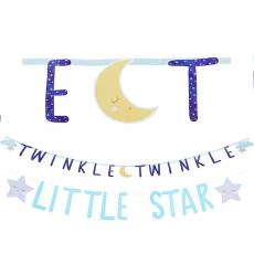 Twinkle Little Star Jumbo Cardboard Letter Banners