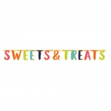 Sweets & Treats Banners Pack of 2