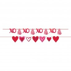 Valentine's Day Party Decorations - Banners Hearts