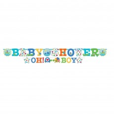 Ahoy Baby Boy Cutout Letter Banners