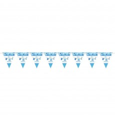 Shower with Love Boy Pennant Banner