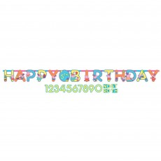 Peppa Pig Jumbo Add an Age Letter Banner