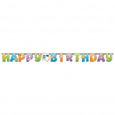 Happy Birthday LOL Jointed Add-An-Age Jumbo Banner