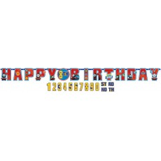 Thomas & Friends All Aboard Add an Age Letter Banner 3.2m x 25cm