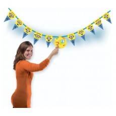Minions Party Decorations - Banner Despicable Me Jumbo Add An Age
