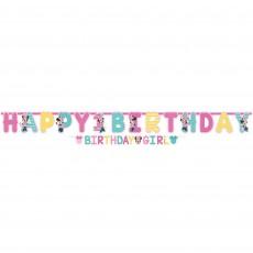 Minnie Mouse 1st Birthday Fun To Be One Jumbo Letter Banners Pack of 2