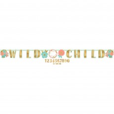 Boho Girl Jumbo Add An Age Letter Banner