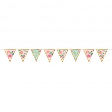 Bridal Shower Mint To Be Pennant Banner