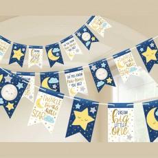 Twinkle Little Star Pennant Banner 4.5m