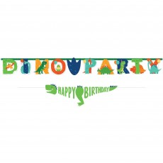Dinosaur Party Decorations - Banners Dino-Mite Jumbo Letter