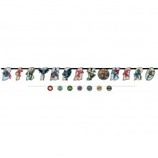 Justice League Party Supplies - Banners Heroes Unite Jumbo