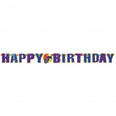 Happy Birthday Add An Age Letter Giant Banner