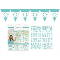 Blue Robin's Egg Personalised Pennant Banner