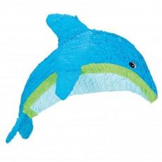 Hawaiian Luau Tropical Dolphin Pinata