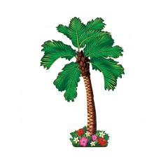 Hawaiian Luau Summer Luau Palm Tree Cutout