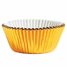Gold Foil Cupcake Cases 5cm Pack of 24