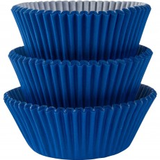 Bright Royal Blue Cupcake Cases 5cm Pack of 75
