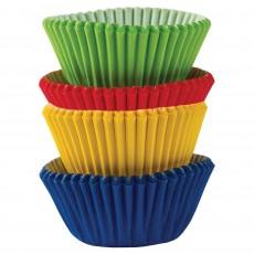 Rainbow Mini Cupcake Cases