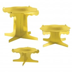 Sweets & Treats Gold Display Stand Risers Cake Stands