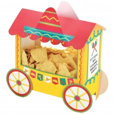 Mexican Fiesta Party Supplies - Deluxe Taco Truck Chip Stand