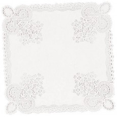 White Doilies Misc Decorations