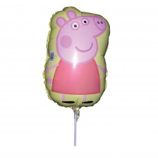 Peppa Pig Mini Shaped Balloon