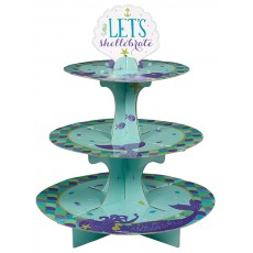 Mermaid Wishes Cupcake Stand