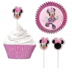 Minnie Mouse Party Supplies - Cupcake Cases Forever