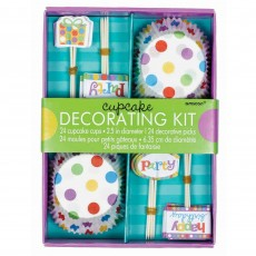 Dots & Stripes Picks & Cupcake Cases