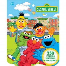 Sesame Street Sticker Book Favour