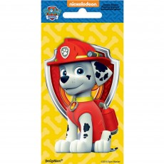 Paw Patrol Marshall Jumbo Sticker Favour
