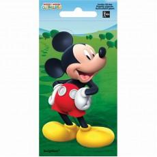 Mickey Mouse Jumbo Sticker Favour 14cm x 7cm