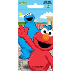 Sesame Street Jumbo Sticker Favour