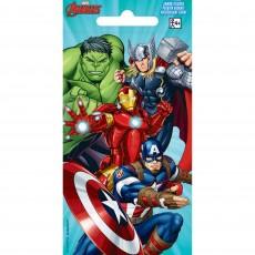 Avengers Jumbo Sticker Favour 14cm x 7cm