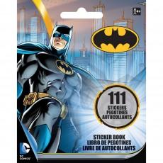 Batman Stickers Booklet Favour 13cm x 10cm