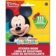 Mickey Mouse Sticker Booklet Favour 13cm x 10cm