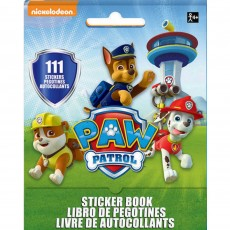 Paw Patrol Stickers Booklet Favour 13cm x 10cm