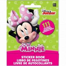 Minnie Mouse Sticker Booklet Favour 13cm x 10cm