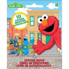 Sesame Street Sticker Booklet Favour