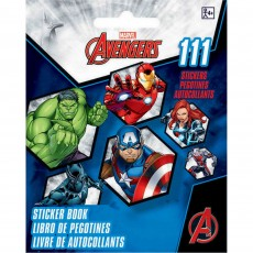 Avengers Sticker Book Favour 13cm x 10cm