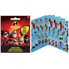 Incredibles 2 Sticker Booklet Favour