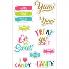 Sweets & Treats Party Supplies - Labels