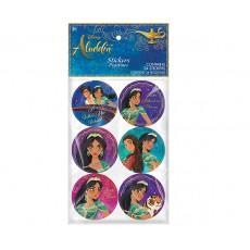 Aladdin Sticker Favours Pack of 24