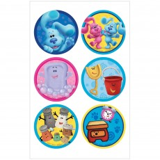 Blue's Clues Party Supplies - Favours Stickers