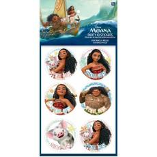 Moana ID Stickers Favours
