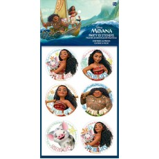 Moana Party Supplies - Favours ID Stickers