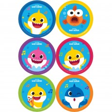 Baby Shark Party Supplies - Favours Stickers